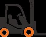 Forklift-Black-Icon